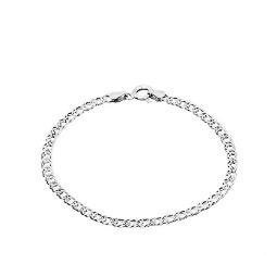 78a0b045a1d1 Итальянские серебряные браслеты Fidelis 925 пробы с карабинным ...