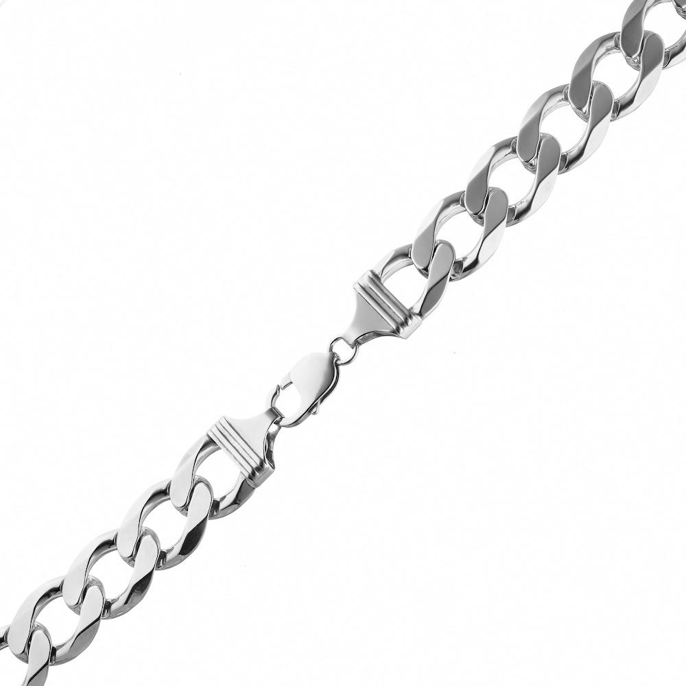 Плетением с непонятным серебряная цепь запутанным