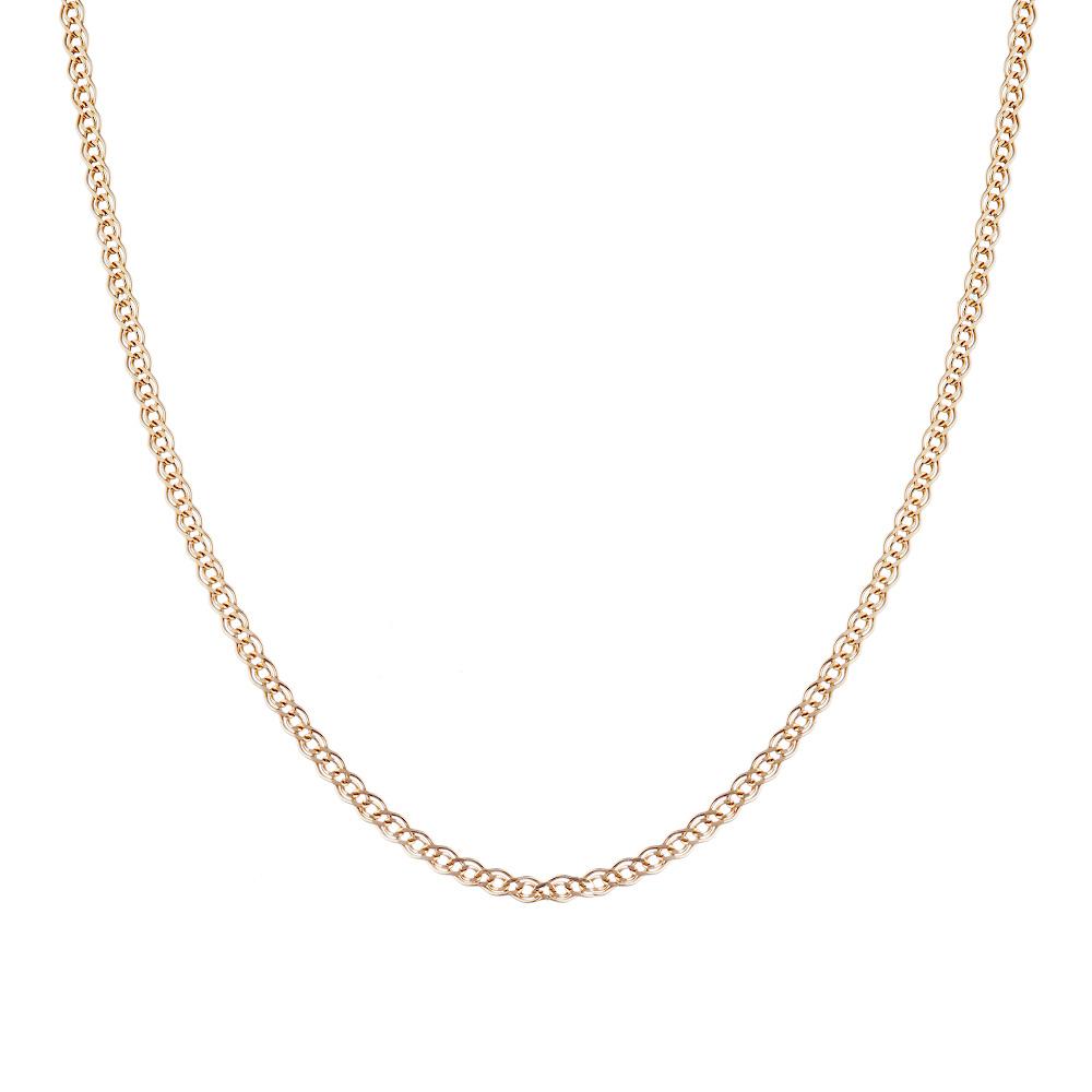 Классическая цепочка «Нонна», изготовлена из розового золота 585 пробы. Размер 65.0 • Fidelis