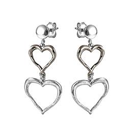 239dc801f381 Итальянские серебряные серьги с не указанным замком - купить в ...