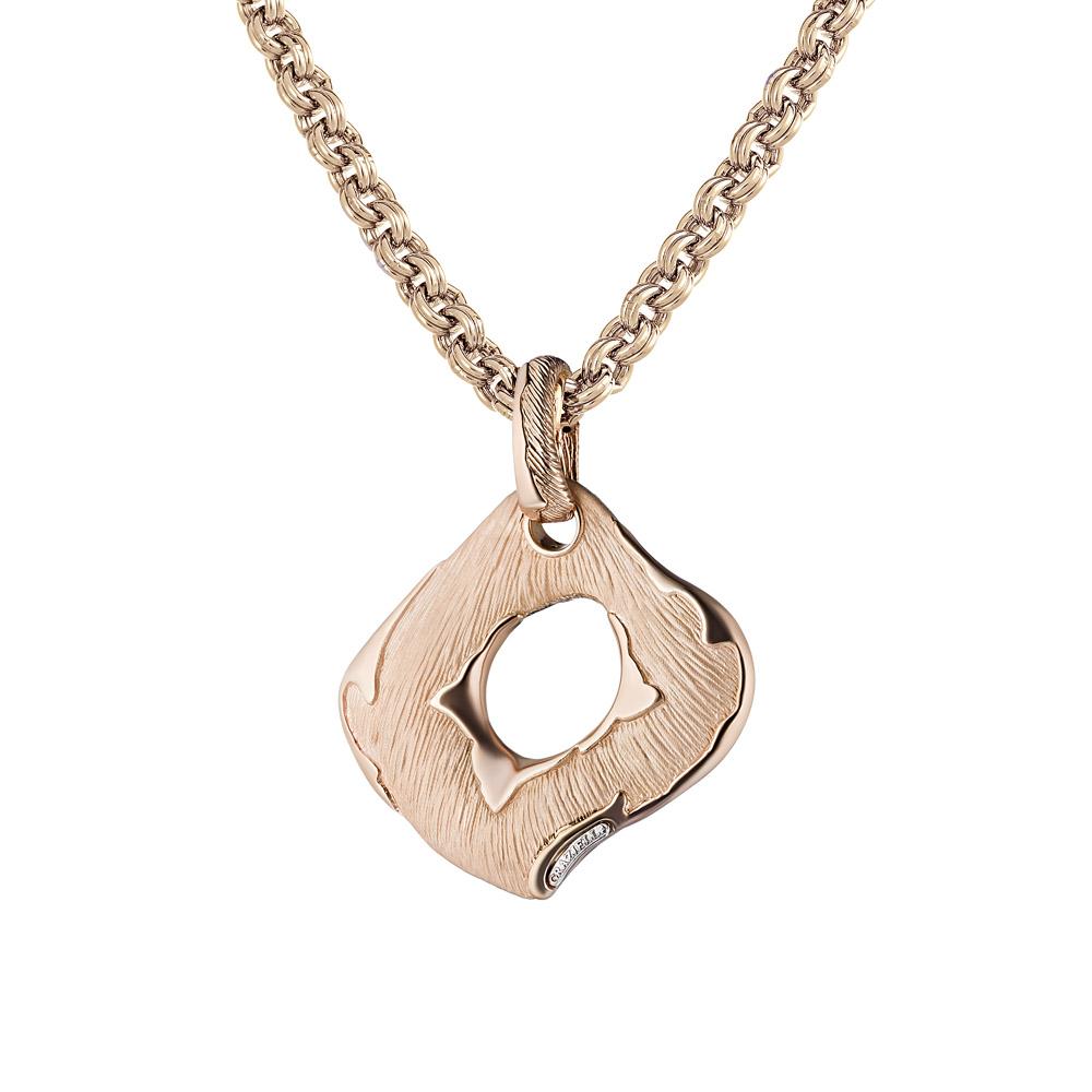 Подвеска Graziella из розового золота, модель Geometrie11 • Graziella