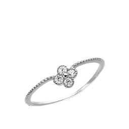 2289b7cdc05f Серебряные кольца с фианитами - купить в ювелирном интернет-магазине ...