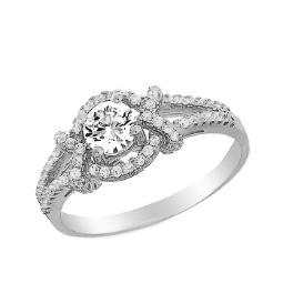 b734dceb71ae Серебряные кольца Fidelis 925 пробы с бриллиантами и фианитами ...
