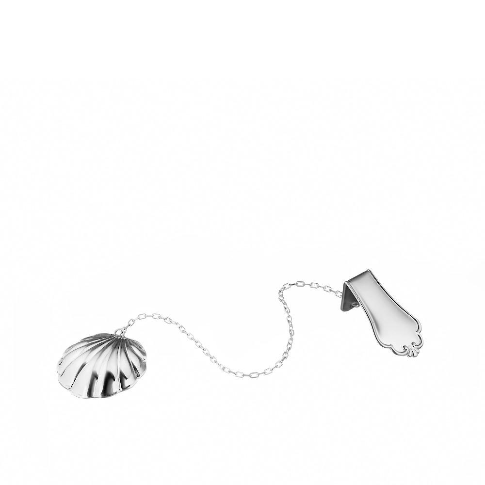 Водоосвежитель серебряный в форме раковины • Juveel